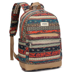 Kinmac New Bohemian Waterproof Laptop Backpack