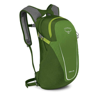 Osprey green backpack