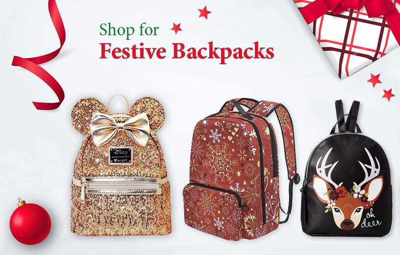 Festive Backpacks