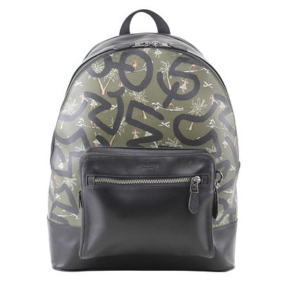 Coach Men Keith Haring Print West Backpack