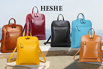 HESHE Backpacks on Amazon