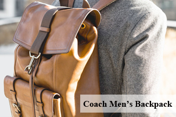Coach Men's Backpack at Amazon.com